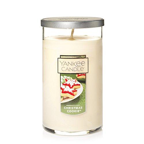 Yankee Candle Medium Perfect Pillar Candle, Christmas Cookie (Christmas Pillar Candle)
