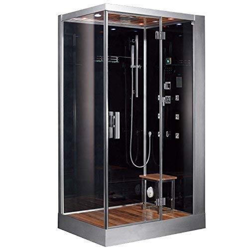 Best Steam Shower: Ariel Platinum DZ959F8-BLK-R