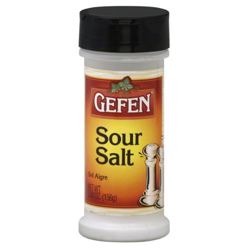 Price comparison product image Gefen Sour Salt 5.5oz Bottle (Pack of 6)