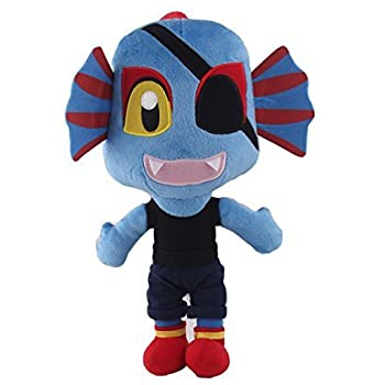 Undertale UNDYNE Stuffed Doll Plush Toy For Kids Christmas Gifts For Baby, Children