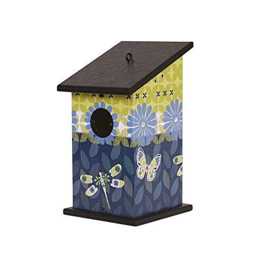 Studio M Designer Birdhouse Functional Outdoor Décor, 7 x 12.25-inches, Capistrano Medley - Capistrano Outdoor Wall