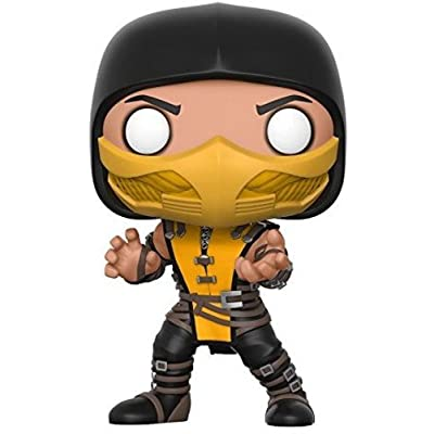 Funko Pop Games: Mortal Kombat-Scorpion Collectible Vinyl Figure: Funko Pop! Games:: Toys & Games