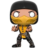 Funko Pop Games: Mortal Kombat-Scorpion Figura de Vinilo Coleccionable