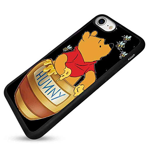 Phone Shell Case Compatible Apple iPhone 8 and 7 4.7-Inch Winnie The Pooh Honey