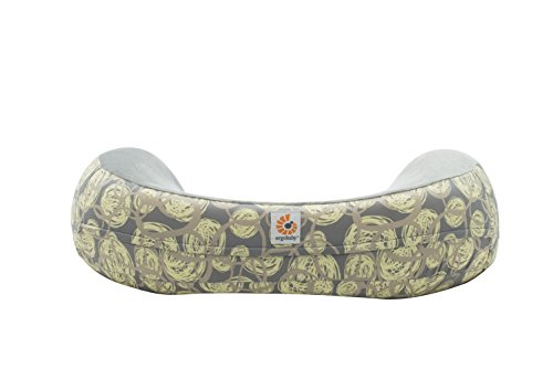 Ergobaby Natural Curve Nursing Pillow Cover, Yellow Swirl by Ergobaby