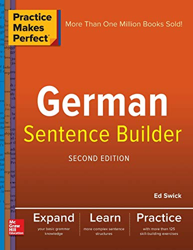 Practice Makes Perfect Spanish Sentence Builder, Second Edition (Make A Sentence With The Word An)