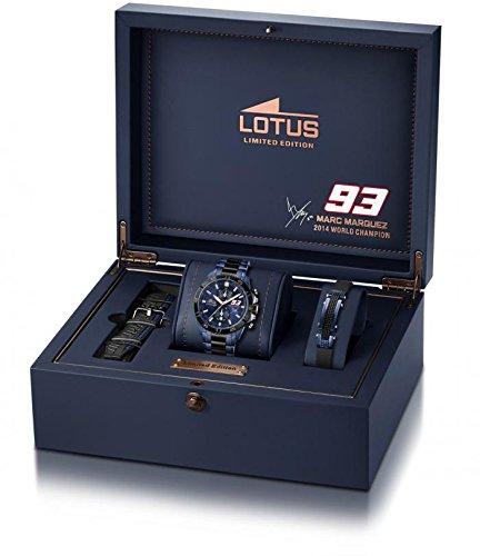 24817f7f4006 Lotus - 18230 1 - Montre Homme - Quartz - Chronographe - Chronographe -  Bracelet Acier Inoxydable Bicolore  Amazon.fr  Montres