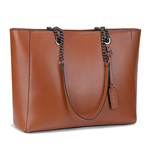 کیف دستی شانه زنانه S-ZONE کیف شانه کیف تا 15.6 اینچی لپ تاپ 2.0