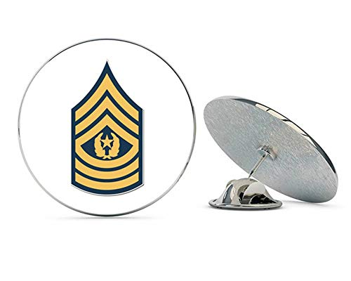 Rank Sergeant Military (NYC Jewelers U.S. Army Command Sergeant Major Rank Metal 0.75