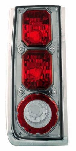 IPCW CWT-CE343CS Crystal Eyes Platinum Smoke Clear Eyes Tail Lamp - Pair