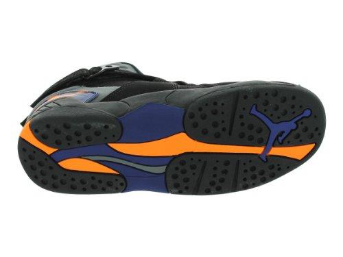 2015 cheap price Jordan Nike Kids 8 Retro BP Basketball Shoe Black/Bright Citrus-Cool Grey-Deep Royal Blue clearance for nice discount cheap price discount purchase cheap sale real lnFVup25