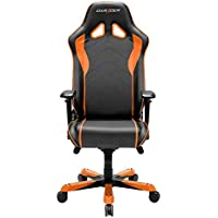 DXRacer OH/SJ08/NO Black & Orange Sentinel Series Gaming Chair