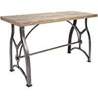 Silverwood FT1153-COM Beckett Industrial Collection Console Table, 48' L x 18' W x 29' H