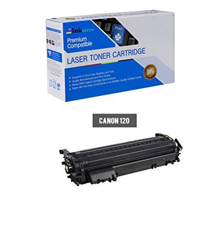 Inksters Compatible Black Toner Cartridge Replacement for Canon 120/2617B001AA - Compatible with ImageCLASS D1120 D1150 D1170 D1180 D1320 D1350 D1370 ()
