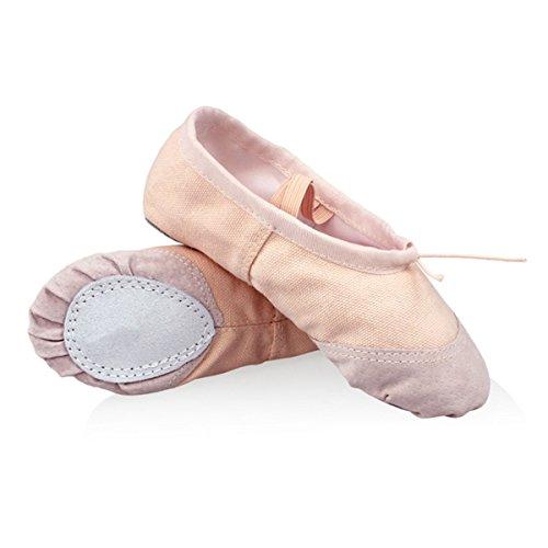 1 Paio di Scarpe da punta per balletto - WinCret di alta qualità traspirante Pantofolt di balletto ballerine scarpe Pointe scarpe per le ragazze ( bimbo / poco capretto / grande capretto )
