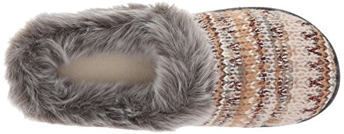 Lurex with Knit Oatmeal Women's Pattern Dearfoams Clog xZqz8Zf