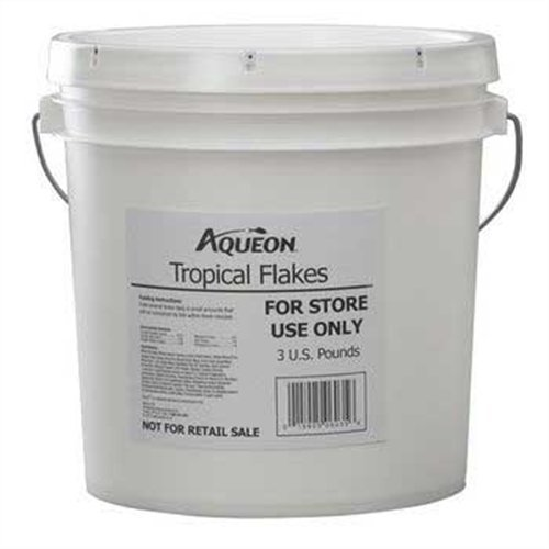 Aqueon Tropical Flakes Fish Food, 3-Pounds ()