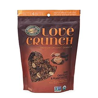 Nature's Path Organic Love Crunch Premium Granola, Dark Chocolate Peanut Butter, 11.5 Ounce (Pack of 6)