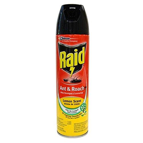 Raid Ant & Roach 17.5oz Lemon , Case of 48 by DollarItemDirect