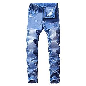 Men's Colorful Super Comfy Stretch Skinny Fit Denim Jeans