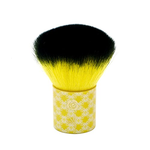 LONDON SOHO NEW YORK Disney Collection Enchanted Beauty Kabuki Brush, Belle Yellow by London SOHO New York