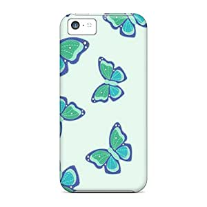 Brand New 5c Defender Case For Iphone (butterflies2)