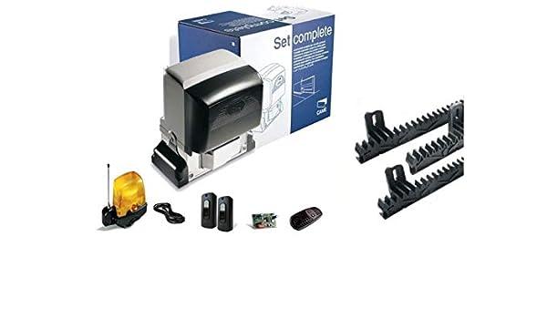 Dieffematic Kit Came U2313 BX-78 230 V Automatización Puerta corredera 800 kg Cremallera 3 m: Amazon.es: Industria, empresas y ciencia