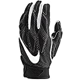 Nike Mens Superbad Sticky Magnigrip Receiver Football Gloves - Black White - XX-Large ...