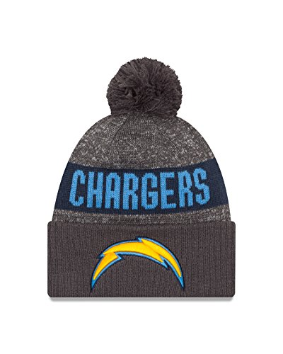 nfl-san-diego-chargers-2016-sport-knit-beanie-one-size-graphite
