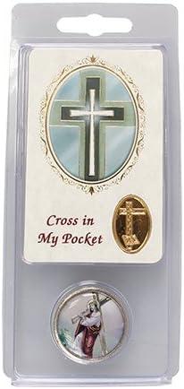 Cross in My Pocket Token /& Prayer Verse Card