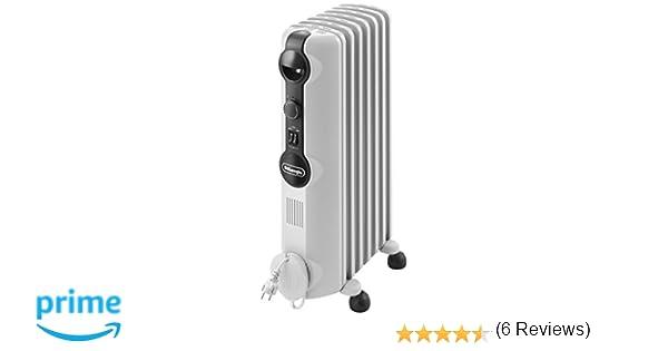 DeLonghi Radia S TRRS0715 - Radiador de aceite, 3 nieveles de potencia, termostato, 1500 W: Amazon.es: Hogar