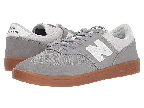 [new balance(ニューバランス)] メンズランニングシューズ?スニーカー?靴 617 Grey/Gum 8 (26cm) EE - Wide