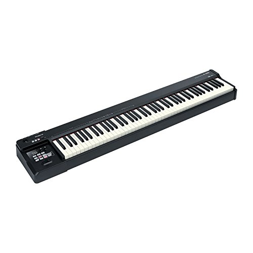 Roland A-88 Keyboard MIDI Controller with Z-stand, Pedal ...