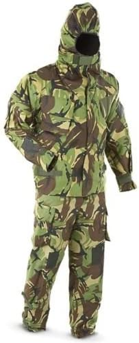 Traje NBQ militar de la armada (excedente), diseño de camuflaje ...