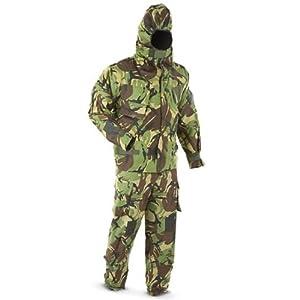 Art-Tackle-UK Combinaison de camouflage Surplus de l'armée Emballé sous vide Taille L 180-100