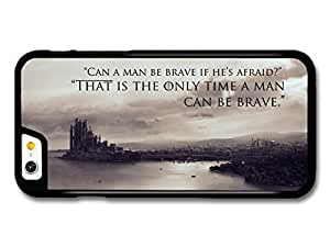 AMAF ? Accessories Game Of Thrones House Stark Targaryen Lannister Quote Be Brave case for iPhone 6