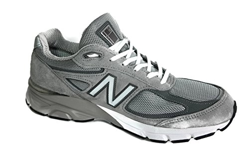 New Balance Men's M990GL4 Running Shoe, Grey/Castle Rock, 9 D - And New Trends Styles