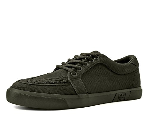T.U.K. Shoes Olive Canvas VLK Schlingpflanze Sneaker EU42/UKM8
