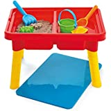 Kidoozie Sand 'n Splash Activity Table with Storage Compartment and Lid