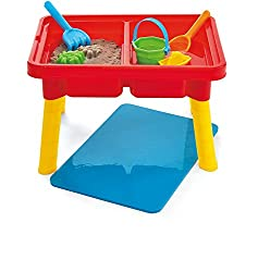 Kidoozie Sand 'N Splash Activity Table With Storage Compartment & Lid