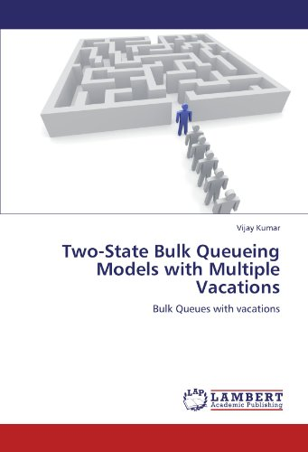 Two-State Bulk Queueing Models with Multiple Vacations: Bulk Queues with vacations