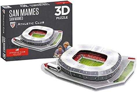 Athletic Club Bilbao Puzzle Estadio 3D San Mamés (Athletic Club ...