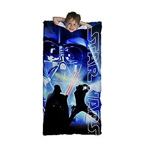 Jay Franco Star Wars Classic Slumberbag, Darth Saber Blue