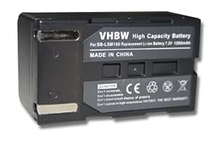 Batería compatible con SAMSUNG SC-D351 / SC-D352 / SC-D353 etc. sustituye modelo SB-LSM160