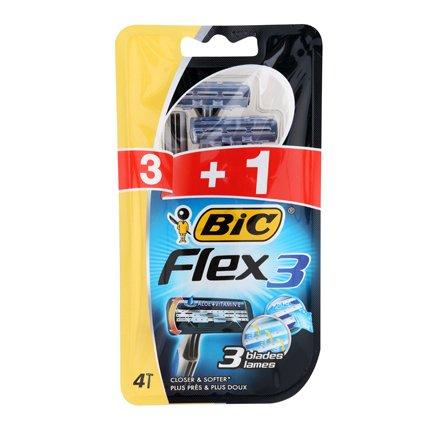 BIC Flex 3 Confort Maquinillas de Afeitar Desechables (3+1 uds.)   Amazon.es  Alimentación y bebidas df515272ae94