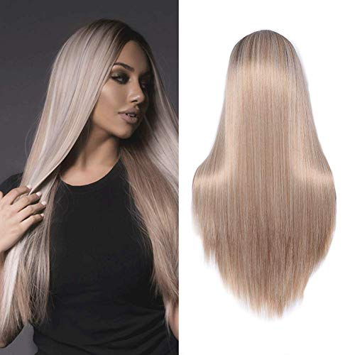 Straight Blonde Fashion Platinum Cosplay product image