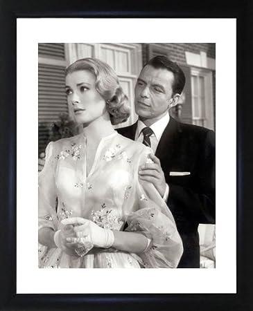 Amazon.com: Grace Kelly And Frank Sinatra Framed Photo: Photographs ...