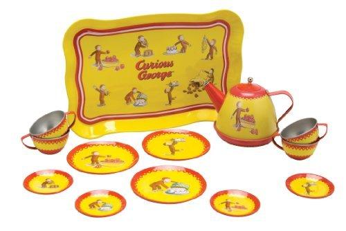 Curious George Tin Tea Set - 3
