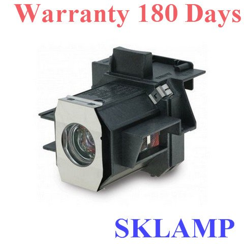 Sklamp ELP-LP35 / V13H010L35 Replacement Lamp with Housing For EPSON EMP-TW600 PowerLite Home Cinema 400 Projectors by WoProlight