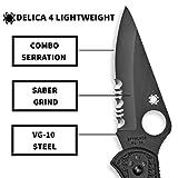 Spyderco Delica 4 Lightweight Signature Folding